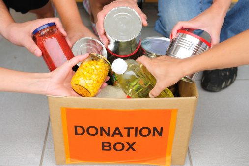 Donation Box for food drive