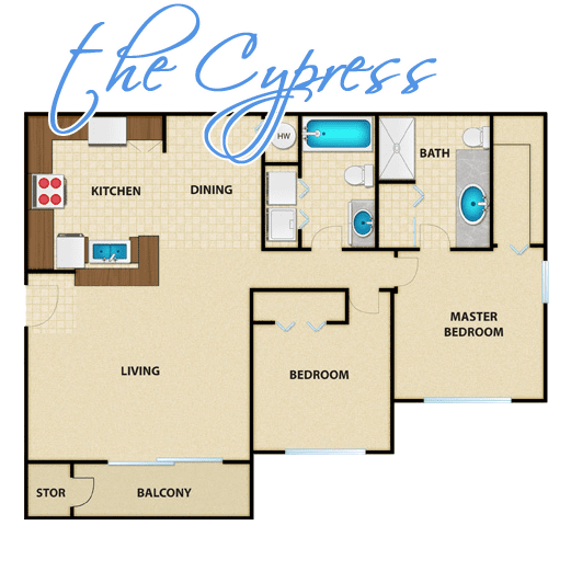 the cypress floor design for kitterman woods luxury rental apartments