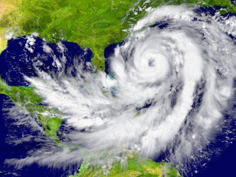 Hurricane between Florida and Cuba