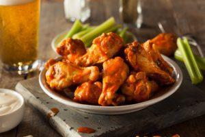 Spicy Homemade Buffalo Wings