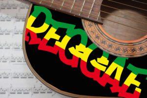Reggae Music Acoustic guitar